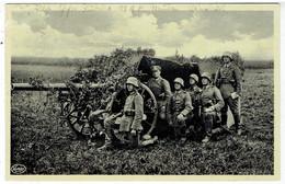 Propaganda  NSDAP - Unser Reichsheer - Getarntes Artilleriegeschütz - Deutsche Soldaten - War 1939-45