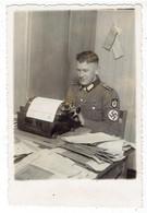 Propaganda  NSDAP - Militär Auf Schreibmaschine - Polen ? - War 1939-45