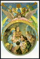 F2957 - TOP Glückwunschkarte Weihnachten - Krippe Weihnachtskrippe - Reprint ?? - Non Classés