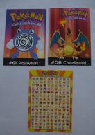 POKEMON : CARTE PUB 2000 - LOT De  3 CPM - Fumetti