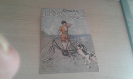 Cpa  Cycles De Dion Bouton - Publicité