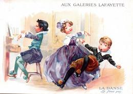 GRANDE CHROMO / AUX GALERIES LAFAYETTE /  LA DANSE - Autres