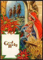 F2971 - TOP Glückwunschkarte Weihnachten - Krippe Weihnachtskrippe - Unclassified