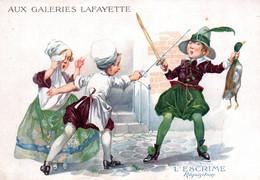 GRANDE CHROMO / AUX GALERIES LAFAYETTE /  L ESCRIME - Autres