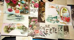 Lot 24 Cartes Postales Anciennes Fantaisie (3) - 5 - 99 Cartes