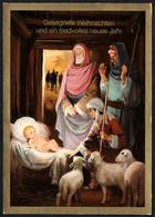 F2976 - Glückwunschkarte Weihnachten - Krippe Weihnachtskrippe - Unclassified