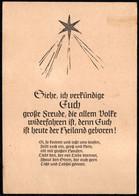 F2978 - Glückwunschkarte Weihnachten - Spruchkarte Krippe Weihnachtskrippe - Unclassified