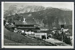 "German Empires Berchtesgaden/Obersalzberg CPSM S/w Photo  AK"" Haus Wachenfeld-Führers Heim Am Obersalzberg"" 1 AK Blanco - Lettres & Documents"