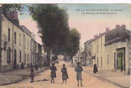 Vendée - La Roche-sur-Yon - La Route De Nantes, Au Point Du Jour - La Roche Sur Yon