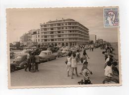 - CPSM CANET-PLAGE (66) - Place De La Méditerranée Et La Résidence 1964 - Photo Chauvin - - Canet Plage