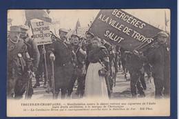 CPA [10] Aube > Bar-sur-Aube Non Circulé Révolte Des Vignerons événements Viticoles 1911 Troyes Cantinière - Bar-sur-Aube