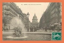 A444 / 351 75 - PARIS Rue Soufflot Et Pantheon ( Cachet Hotel Mondial ) - Zonder Classificatie
