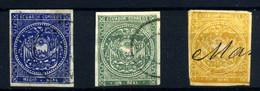 Ecuador Nº 1a/3. Año 1865/72 - Equateur