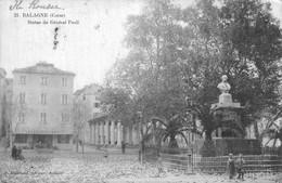 H1208 - BALAGNE - D20 - Statue Du Général Paoli - Andere Gemeenten