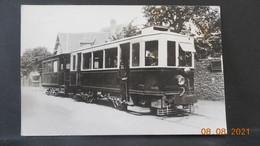 Photo De Format CP - Tramway De Grande Banlieue - Trains