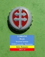 Lorraine - Brassée à 97232 Lamentin Martinique - Bière Française  MEV13 - Birra