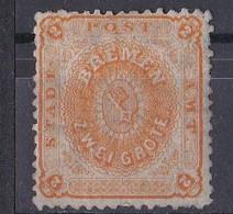 Bremen 1866 - Mi.Nr. 10 A - Ungebraucht Unused - Bremen