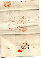 L.A.C. Pour PARIS Du 22/2/1839,10h1/2 Du Matin - 1801-1848: Vorläufer XIX