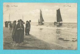* De Panne - La Panne (Kust - Littoral) * (Héliotypie De Graeve - Star, Nr 1143) à La Plage, Beach, Bateau, Voilier, TOP - De Panne