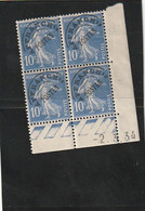 ///  FRANCE  //// Coin Daté N°  52 Côte 8€ Gomme Légerment Altérée Pli - 1930-1939