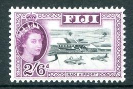 Fiji 1962-67 QEII Definitives - Wmk. Block CA - 2/6 Nadi Airport - Deep Purple MNH (SG 320a) - Fiji (...-1970)