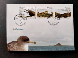 PORTUGAL FDC COVER - MADEIRA 2004 Savage Islands Of Madeira (STB10-C7) - FDC