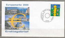 Europa Cept 2000 Germany FDC Berlin Cancel #30647 - 2000