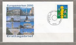 Europa Cept 2000 Germany FDC Berlin Cancel #30649 - 2000