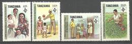 Tanzania 1994 Mi 1793-1796 MNH  (ZS4 TNZ1793-1796) - Andere