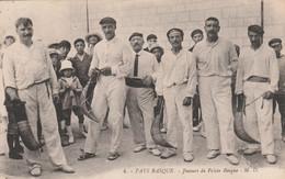 CPA (64) Pays Basque N° 4 Joueur De Pelote Basque Sport  2 Scans - Ohne Zuordnung