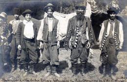 60  BEAUVAI60  BEAUVAIS  CARTE PHOTO GATELET  1909  LA TRIBU  HONGRO POLONAISE DE  CHAUDRONNIERS DE L'AVENUE VICTOR HUGO - Beauvais