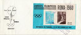 PANAMA FDC 1960 BF JEUX OLYMPIQUES DE ROME - Panama