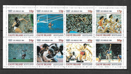 Calve Island 1984 Olympic Games - LOS ANGELES Sheetlet MNH (DMS04) - Estate 1984: Los Angeles