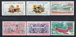 W-12 Comores  PA N° 39 à 44 **  A Saisir !!! - Luchtpost