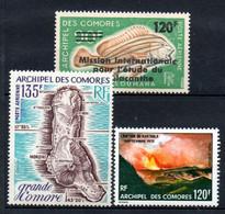 W-12 Comores  PA N° 52 à 54 **  A Saisir !!! - Luchtpost