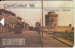 SPAIN - Thessaloniki, Card Collect 1998, Exhibition In Thessaloniki, Tirage 4700, 09/97, Used - Paesaggi
