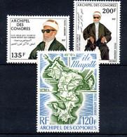 W-12 Comores  PA N° 59 à 61 **  A Saisir !!! - Luchtpost