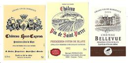 Lot De 15 étiquettes Neuves   PREMIERES   CÖTES   DE   BLAYE   ( 5 Scans) - Bordeaux