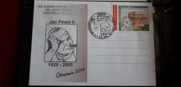 POPE JOHN PAUL II 2014 OSTRZESZOW  PAPA PAPE PAPST - Papes