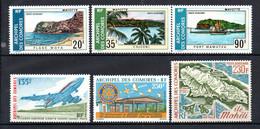W-12 Comores  PA N° 62 à 67 **  A Saisir !!! - Luchtpost