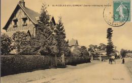 76 : Saint Nicolas D'Aliermont    ///  Ref.  AOUT  21  ///  N° 16.744 - Autres Communes