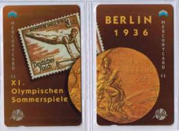 MERCURY CARD - Puzzle 2 Cartes - J.O. Berlin 1936 - Voir Scans - [ 4] Mercury Communications & Paytelco