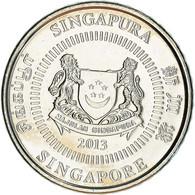 Monnaie, Singapour, 50 Cents, 2013, Singapore Mint, SUP+, Copper-nickel - Singapore