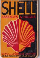 Petit Carnet Calendrier De 1932  SHELL - Essence & Huiles - Klein Formaat: 1921-40