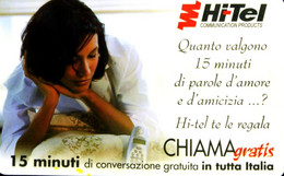 G CHI 101 SCHEDA TELEFONICA MINT DT CHIAMAGRATIS HI-TEL 10/2001 COME FOTO - Private-Omaggi