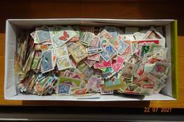 Raf 60 - Vrac Milliers Timbres Décollés Monde - 852Gr - Lots & Kiloware (mixtures) - Min. 1000 Stamps