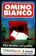 G CHI 34 SCHEDA TELEFONICA CHIAMAGRATIS USATA DT OMINO BIANCO COME FOTO - Private-Omaggi