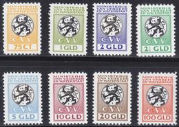 Netherlands Fiscal Stamps 1961 - Ministerie Van Verkeer En Waterstaat CVV - Neufs