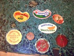 Publicité étiquettes De Fruit Melon De Cavaillon  Lot De 6 Différentes - Frutta E Verdura