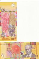 Bahamas - 5 Dollars 2020 UNC Lemberg-Zp - Bahamas